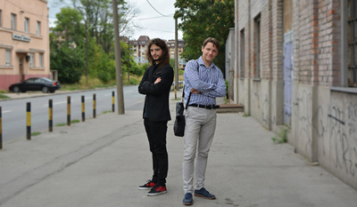 Futuring CEO Ivan Pantovic & COO Marko Nikolic